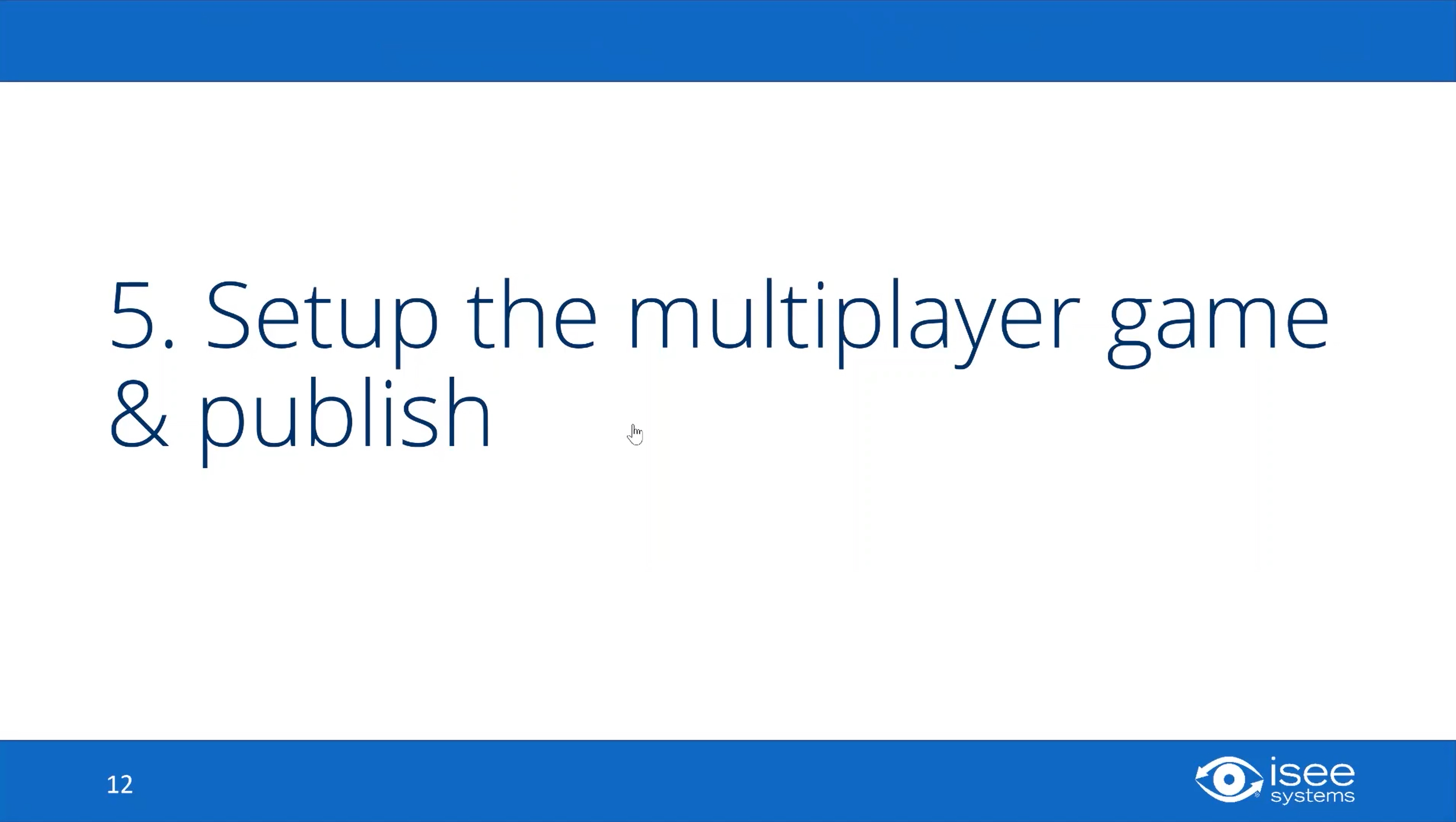 Setup the Multiplayer Game & Publish